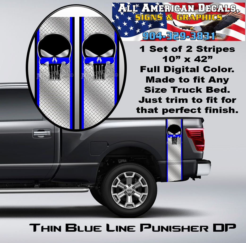 TBL Punisher Diamond Plate Bed Band