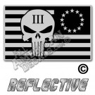13 Star Punisher flag decal