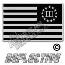 13 Star 3Percenter flag decal