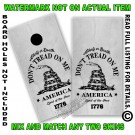 Aged Tactical Don't Tread on me Flag