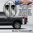 Black Punisher Diamond Plate Bed Band Double