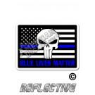"""TBL Tactical Flag  """"Blue Lives Matter"""" Punisher"""