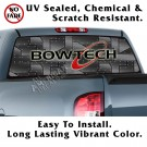 BOWTECH Riveted Black Metal Back Window Graphic
