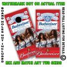 Budweiser King of Beers Ladies Board Wrap