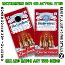 Budweiser on ice Corn hole borad