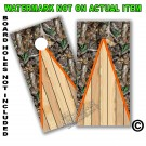 Real Oak Tree Camo Board Wrap With Wood Lane