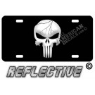Distressed Punisher License Plate