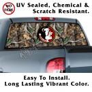 Florida State Seminoles Oak Tree Camo Back Window Graphic