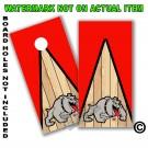 """Georgia Bulldogs """"Dog"""" Board Wrap With Wood Lane"""