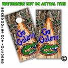 GO Gators Real Oak Tree Camo Board Wrap With Wood Lane