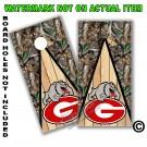 Georgia Bulldogs Real Oak Tree Camo Board Wrap With Wood Lane