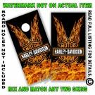 Harley Davidson HD Ture Fire On Black