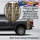 Real Tree Oak Camo Punisher Truck Bed Band Stripe Decal Kit