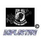 POW-MIA Reflective