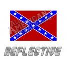 Rebel Reflective Decal
