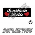 Southern Belle Patch Decal Reflective