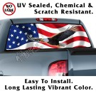 Soring Eagle Back window graphic