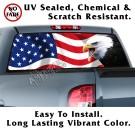 Screaming Eagle US Flag Back Window Graphic