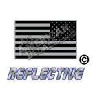 Subdued Tactical American Flag Reverse Facing