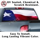 Wavy Texas Flag Back Window