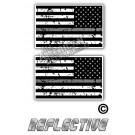 TGL Thin Grey Line Distrees Tactical Flag Set